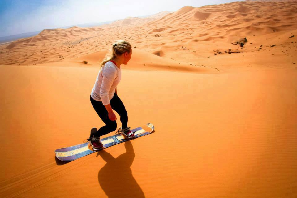 ski dunes erg chebbi