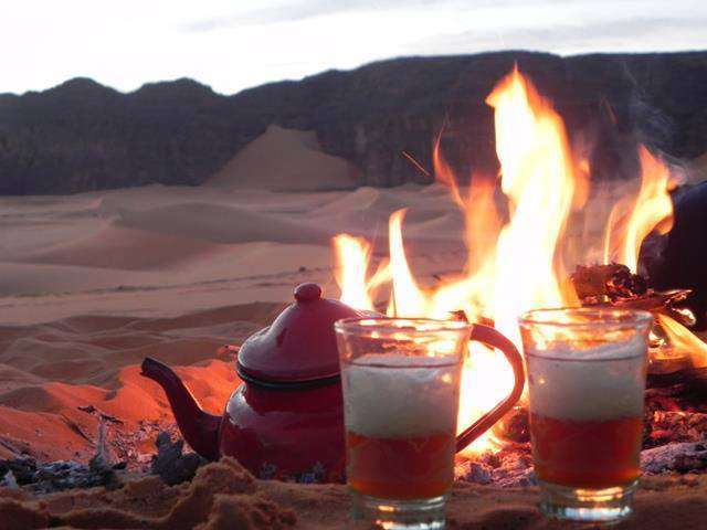 tea in sahara